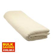 Heavy Duty Cotton Twill Dust Sheet 12' x 12'