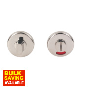 Eclipse Lock Door Handle Pair Polished Stainless Steel