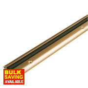 Stormguard Compression Draught Excluder Gold Anodised 1828mm