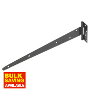 Medium Duty Tee Hinge Black 375mm