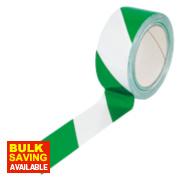 Chevron Hazard Tape Green / White 50mm x 33m