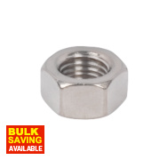 Hex Nuts A2 Stainless Steel M16 50 Pack