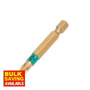 Wera BiTorsion Diamond Bit Pozi #2 50mm