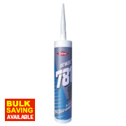 Dow Corning 781 Acetoxy Silicone Sealant White 310ml