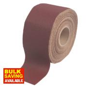 Flexovit Pro Alox Sanding Roll 115mm x 50m 80 Grit