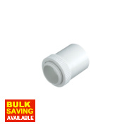 Tower Male Adaptors 20mm White Pack of 2