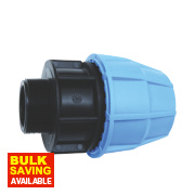 FloPlast Male Pipe Adaptor 20mm x ¾