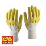 Skytec Neon Neon Gloves Yellow Large