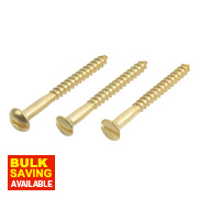 Easydrive Brass Woodscrews Handy Pack Mixed Head Types Pack of 420