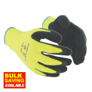 Portwest Thermal Grip Gloves Yellow X Large