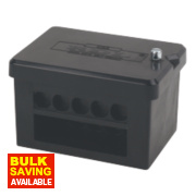 2 x 5-Way DP 100A Service Connector Block 25mm²