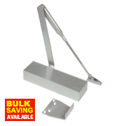 Dorma TS71 Overhead Door Closer Silver