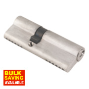ERA 6-Pin Euro Cylinder Lock 35-50 (85mm) Satin Nickel