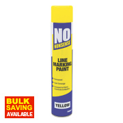 No Nonsense Line Marking Paint Yellow 750ml