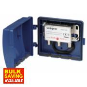 Labgear PSC120/S 2 Way Combiner Splitter (VHF/UHF)