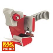 Hand-Held Tape Dispenser Red/White 50mm x m