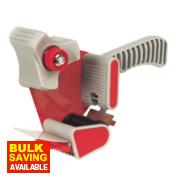 Hand-Held Tape Dispenser Red/White 50mm x m