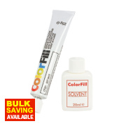 Colorfill Worktop Compound Soft White 2 Pcs