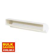 Manrose Vertical 45° Bend White 225mm