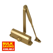 Briton 121CE Overhead Door Closer Gold