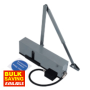 Briton 996 / 3 Overhead Door Closer Silver