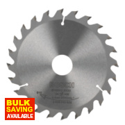 Bosch Circular Saw Blade 165mm 20/30mm Bore 24T