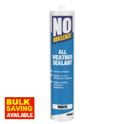 No Nonsense All-Weather Sealant White 310ml