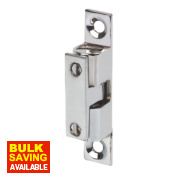 Double Ball Cabinet Catches Chrome-Plated 42mm Pack of 10