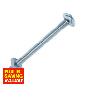 Roofing Bolts BZP M6 x 80mm Pack of 10