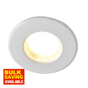 Robus Fixed Round Low Voltage Bathroom Downlight White 12V