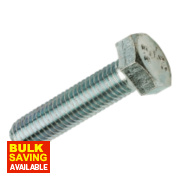 BZP Set Screws M12 x 40mm Pack of 100