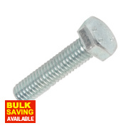 Easyfix BZP Set Screws M6 x 25mm Pack of 100