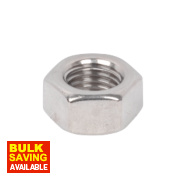 A4 Stainless Steel Hex Nuts M16 Pack of 50