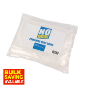 No Nonsense Polythene Dust Sheets 12' x 9' Pack of 2