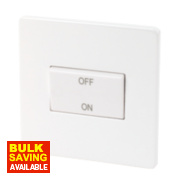 Varilight 1-Gang Ice White Isolator Switch