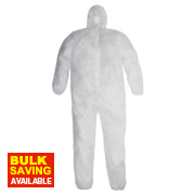 Disposable Coveralls White XX Large 46-50