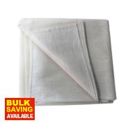 No Nonsense Poly-Backed Dust Sheet 6' x 3'