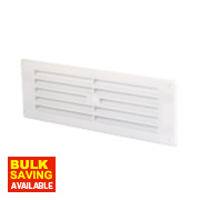 Louvre Vent White 76 x 229mm