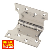 Eclipse Parliament Hinge Polished Stainless Steel 127 x 102mm Pack of 2