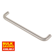 D Handle Stainless Steel 160mm