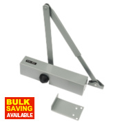 Briton 2003SES Overhead Door Closer Silver