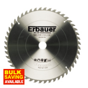 Erbauer Circular Saw Blade 48-Tooth 210mm