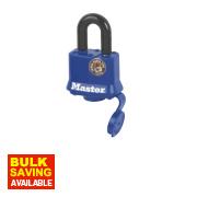 Master Lock Weather Tough Padlock Steel 40mm