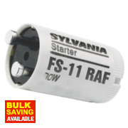 Sylvania 70W White Fluorescent Diffuser Starter Pack of 5