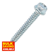 Rawlplug Self-Drilling Roofing to Steel Screws 5.5 x 38 x 2.13mm Pk100