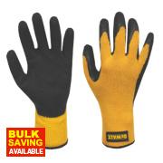 DeWalt Gripper Gloves Black / Yellow Large