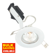 LAP Fixed Round Low Voltage Downlight White 12V