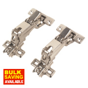 Sprung Concealed Hinge 165° 35mm Pack of 2