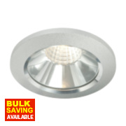 LAP Fixed Downlight Kit 475Lm Brushed Chrome 6W 240V