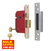 ERA BS 5-Lever Mortice Sashlock Satin Nickel 3